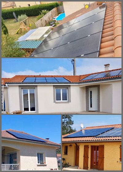 réalisations entreprise énergies renouvelables photovoltaïque Arsilec Rhone Alpes Lyon 69