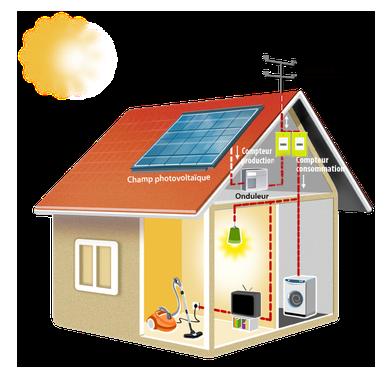 panneau photovoltaïque Auvergne Rhône-Alpes